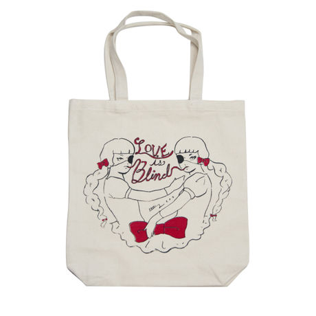 Love is Blind Twin Girls Tote bag