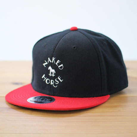 Logo Cap Red×Black