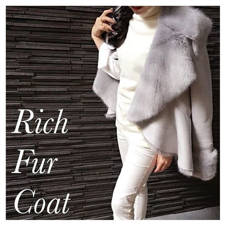 Rich fur coat