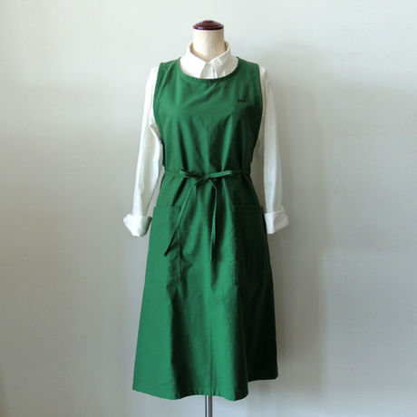 【店舗&NET通販限定】DISH WASHERS DRESS Ⅱ_GREEN