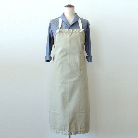 【新商品】SOME WAY APRON_BEIGE