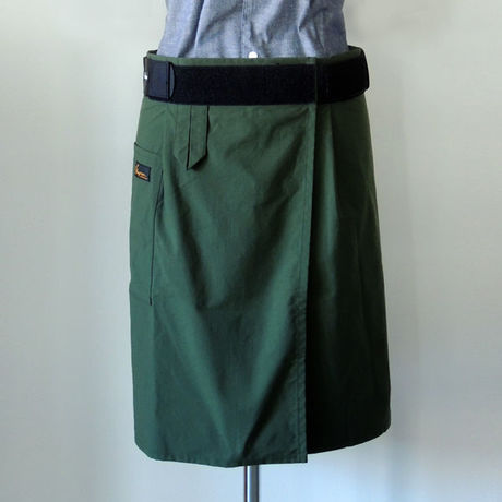 【新商品】SUPPORTING APRON_GREEN