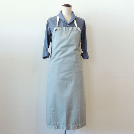 【新商品】SOME WAY APRON_GRAY