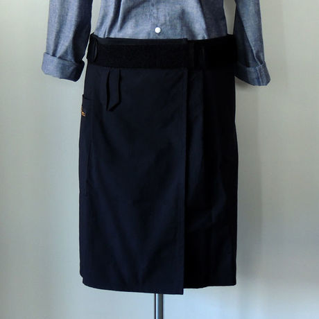 【新商品】SUPPORTING APRON_BLACK