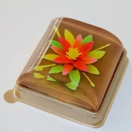 3Dフラワーホールゼリー XS(3D flower cake jelly, size XS)