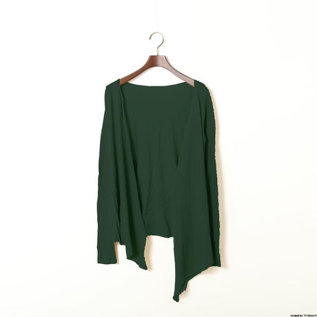 PITATTO CARDIGAN / MALACHITE GREEN