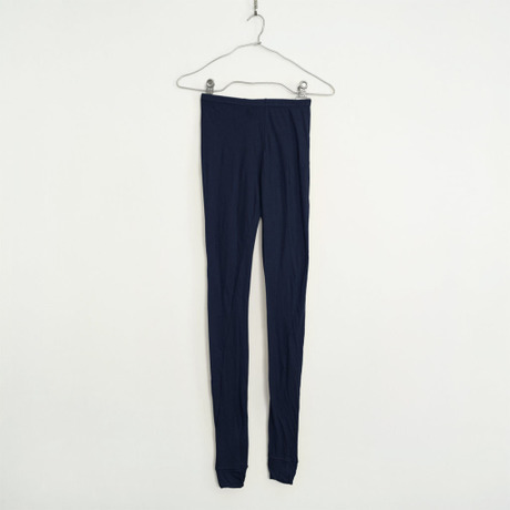"""""""PITATTO"""" LEGGINGS / LOGWOOD NAVY"""