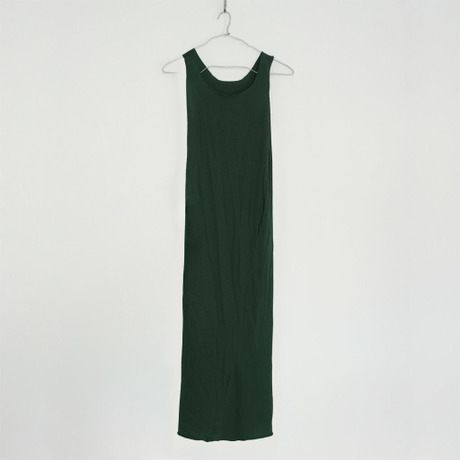 """""""PITATTO"""" TANKTOP ONE PIECE / MALACHITE GREEN"""