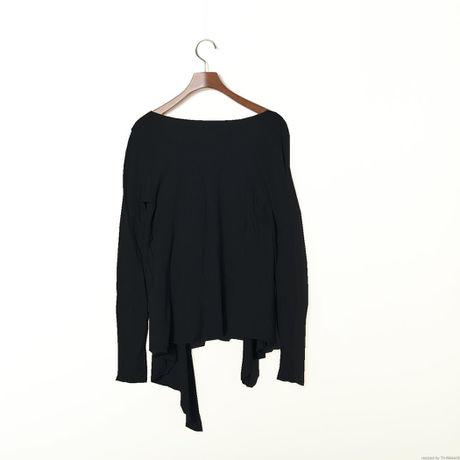 PITATTO CARDIGAN / STONE BLACK