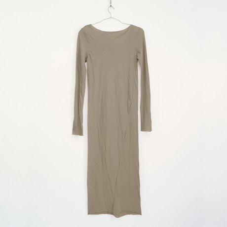PITATTO LONG ONE-PIECE / GINGER BEIGE