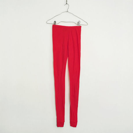 """""""PITATTO"""" LEGGINGS / ROSE RED"""