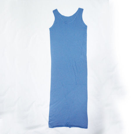 """""""PITATTO"""" TANK TOP ONE PIECE / BLUEBERRY BLUE"""