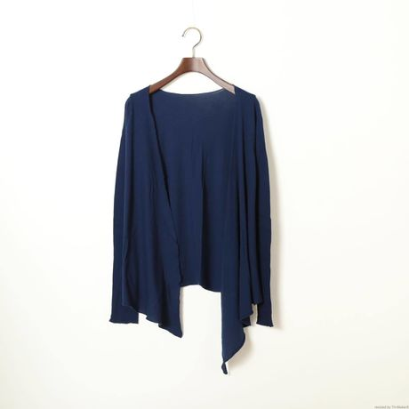 PITATTO CARDIGAN / LOGWOOD NAVY