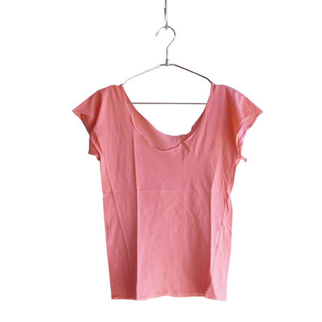"""""""PITATTO""""U-NECK T / CHERRY PINK"""