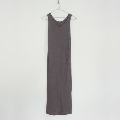 """""""PITATTO"""" TANKTOP ONE PIECE / CHARCOAL GRAY"""