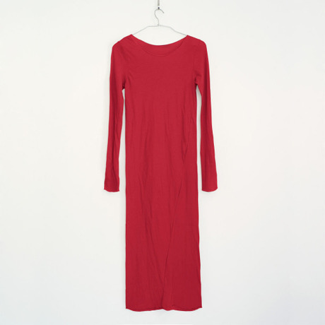 PITATTO LONG ONE-PIECE / ROSE RED