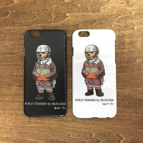 """RUGGED """"POLO TIMERS"""" iphone case 6 / 6S"""