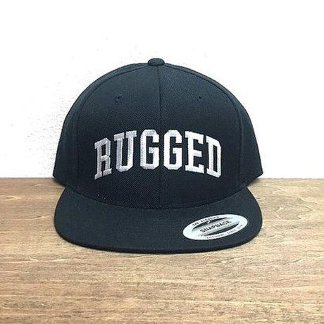 """RUGGED """"Arch logo"""" snap back"""