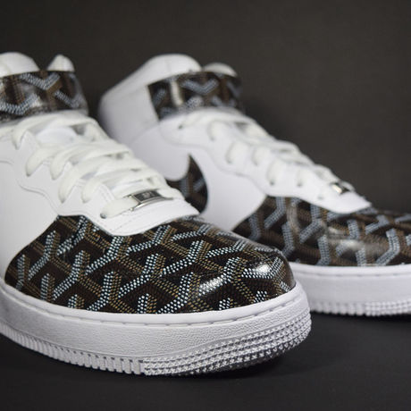 GOYARD (ゴヤール) Pattern NIKE AIR FORCE 1 Custom