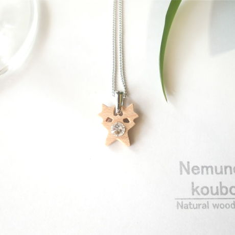 Timber  necklace (Swarovski)「Stars」 type2