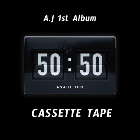 """A . J  1st Album """" 50 : 50 """"       Domestic (Japan) shipping ONLY"""