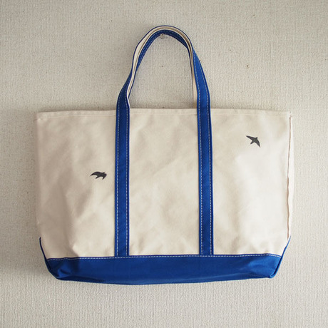 birds bean tote L _No.77