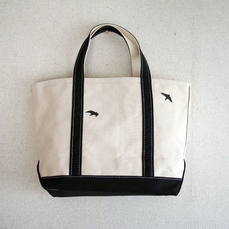 birds bean tote M _No.144