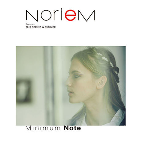 【NorieM Minimum Note】2016,02,20発売(2016 SPRING &SUMMER)