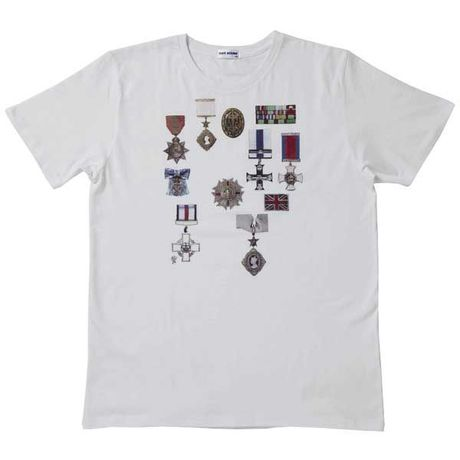 【SALE】 Pete's Medal Tee - White