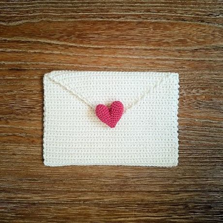 "【受注製作】mini pouch ""LOVE letter"""