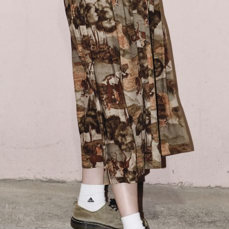 - ̗̀ safari SKIRT  ̖́-