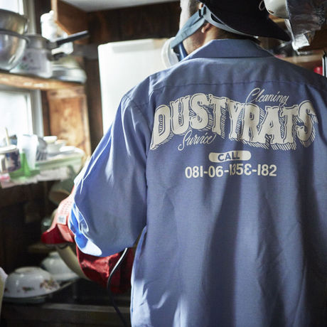 nutty clothing / DUSTYRATS WORK SHIRT