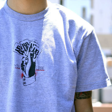 nutty clothing / YOU LOSE T-SHIRT(トランプ付)
