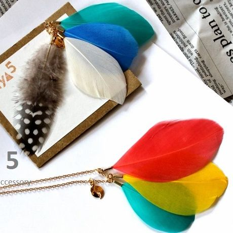 Plume Summer necklace