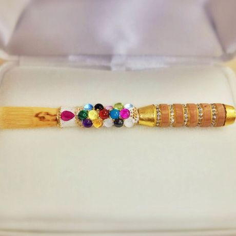 """Beautiful oboe deco reed """"LOUIS 14"""" ~ohsis"""