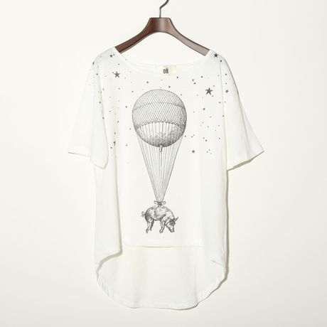oii pig balloon Tシャツ