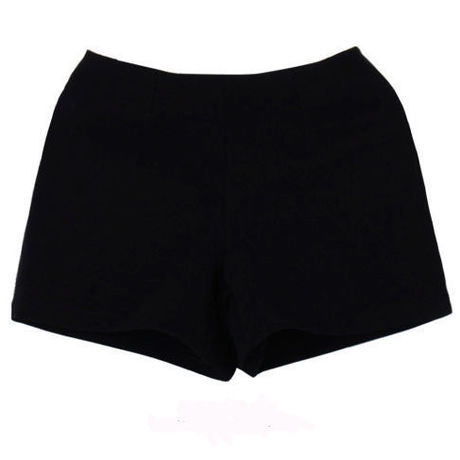 Simple Black Shorts