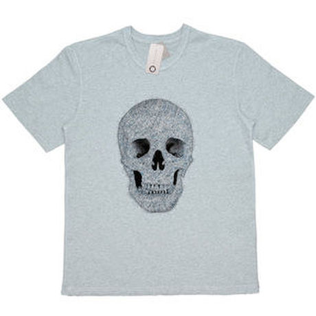"""COLOR OF BACK """"SKULL"""" TEE / グレー"""