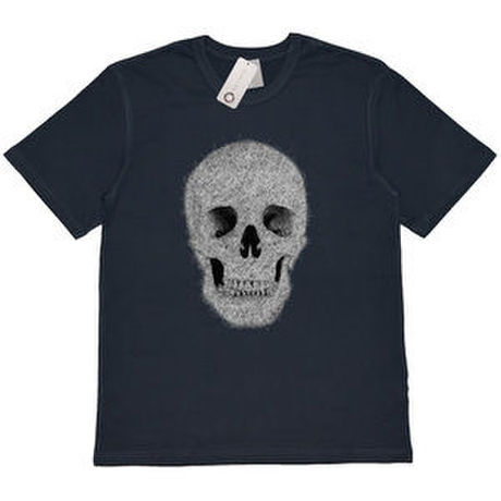 """COLOR OF BACK """"SKULL"""" TEE / ネイビー"""