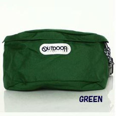OUTDOOR PRODUCTS ボディバッグS GREEN