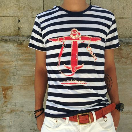 own.s/s Anchor tee