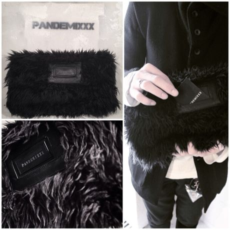 """""""MOJAMOJA"""" FUR CLUTCH BAG"""