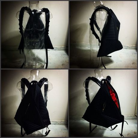"""""""SPEED"""" HANDMADE BACKPACK"""