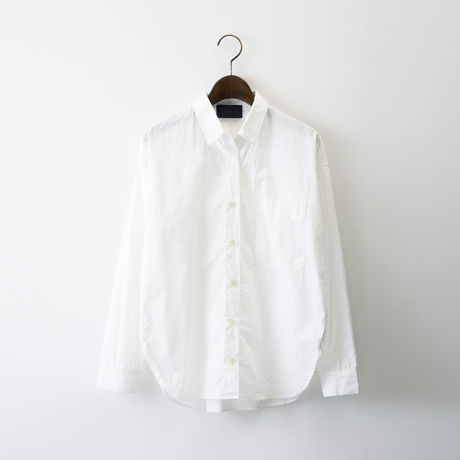 1510-01-104 Cotton Typewriter Wide Shirt