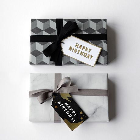 """Gift Tags - """"Happy Birthday"""""""