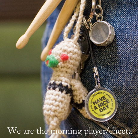 【CD】We are the morning player / cheeta