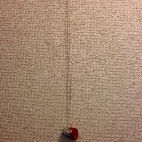 Stone Necklace Red