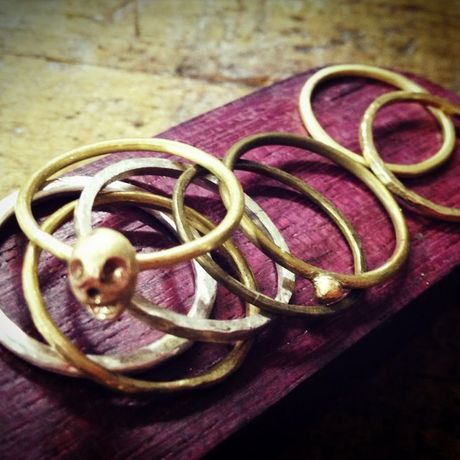 brass rings