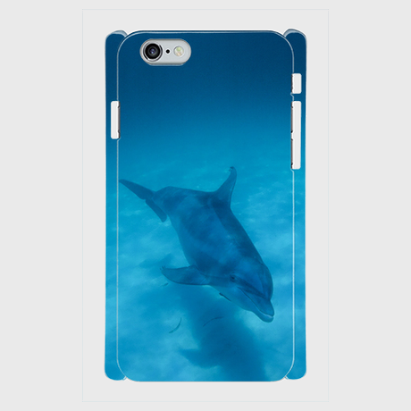 """iPhone5/5s/SE, 6/6s/用ケース """"Dolphin"""""""