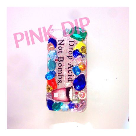 Drop Acid Not Bombs☆iphone5,5sケース